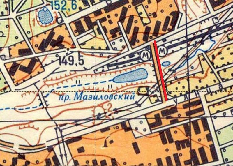 Более 50-ти лет московская улица существовала без названия. Рассказываю почему 1968.jpg