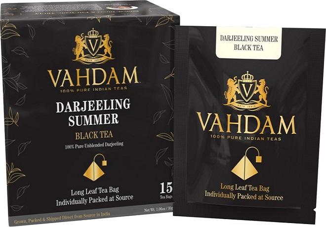 VAHDAM, Darjeeling Premium Summer Black Tea