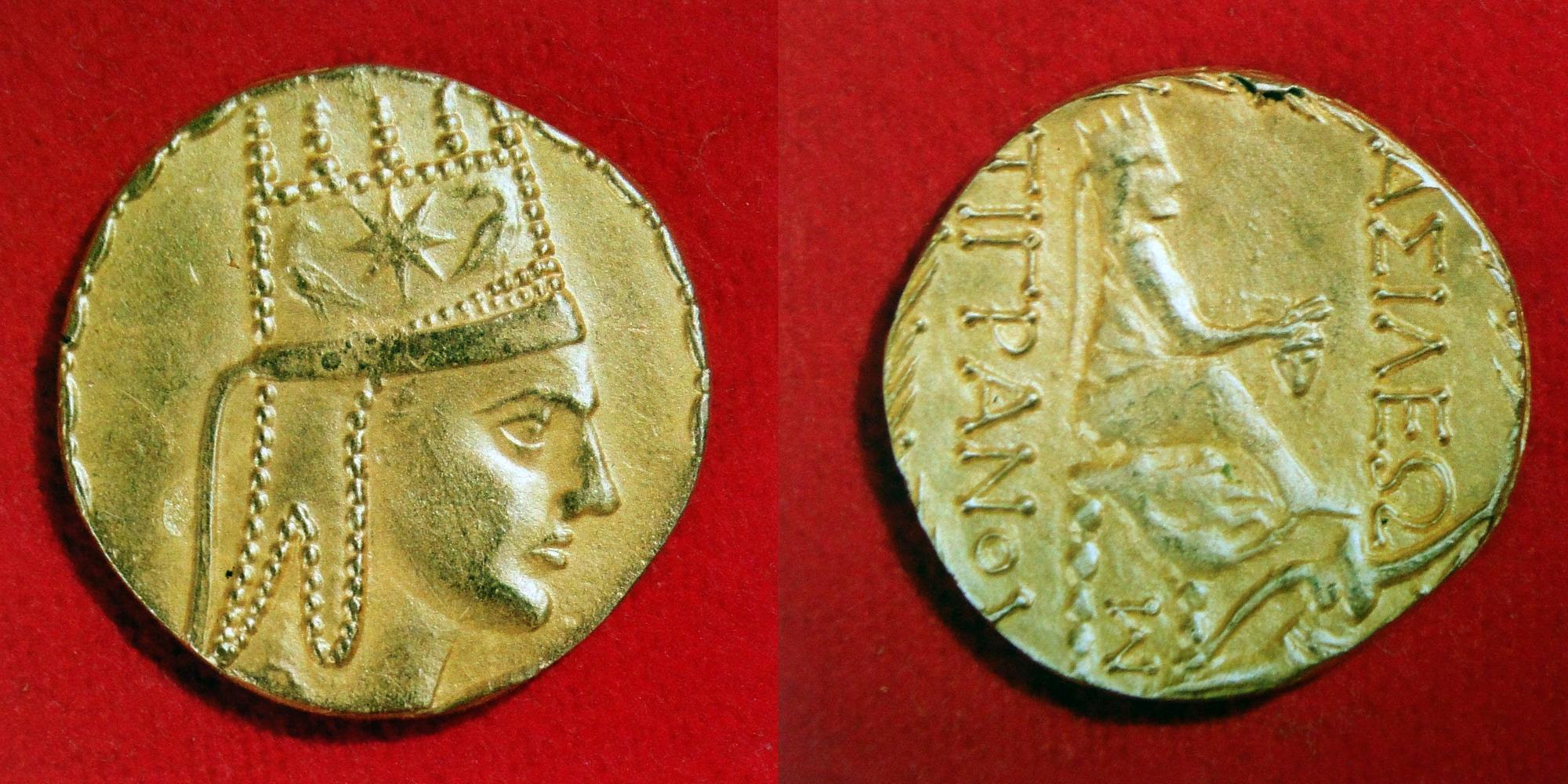 Золотая монета тиграна великого - vahe martirosyan's blog.