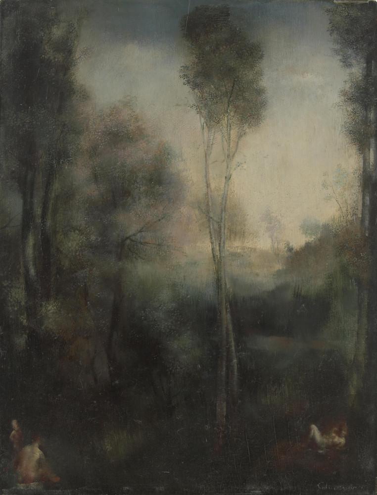 Пейзаж. 35 x 27 см