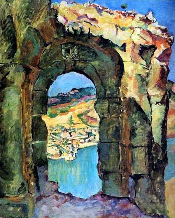 1927 С развалин Мцыри. 128х103 Ссх, М.