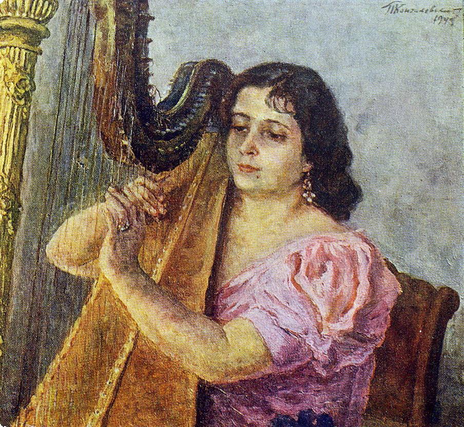 1949 Портрет артистки Веры Георгиевны Дуловой. 77х81 ГТГ