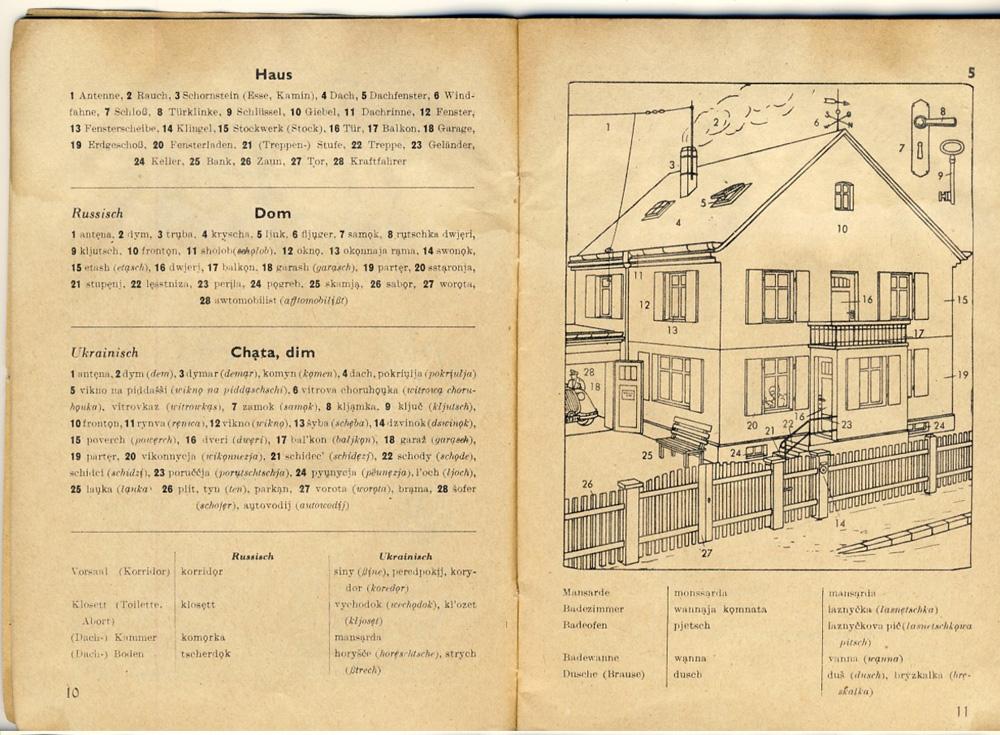 Немецкая хата 1940 года