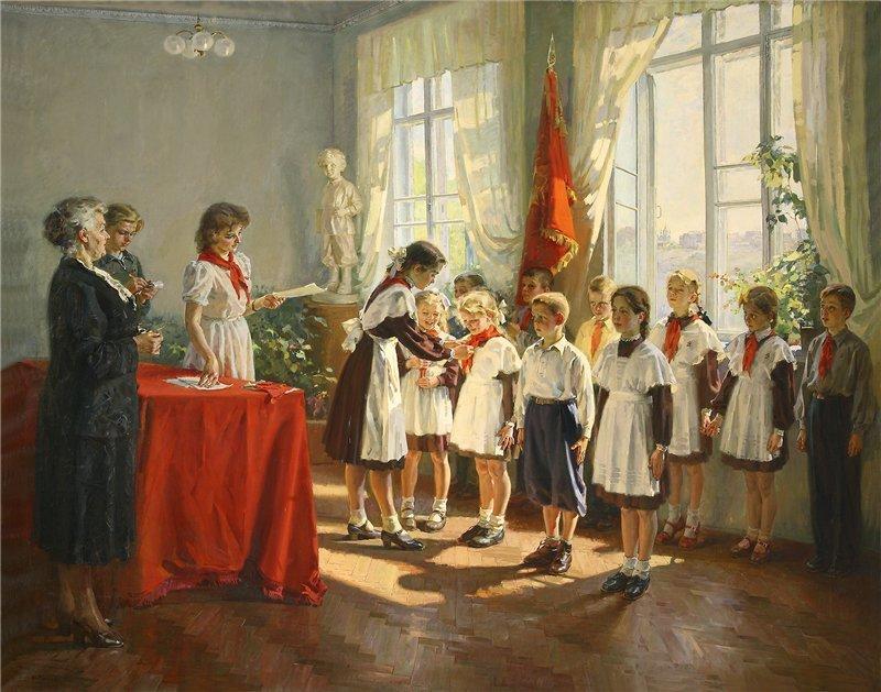 Как советская пропаганда обрабатывала детей
