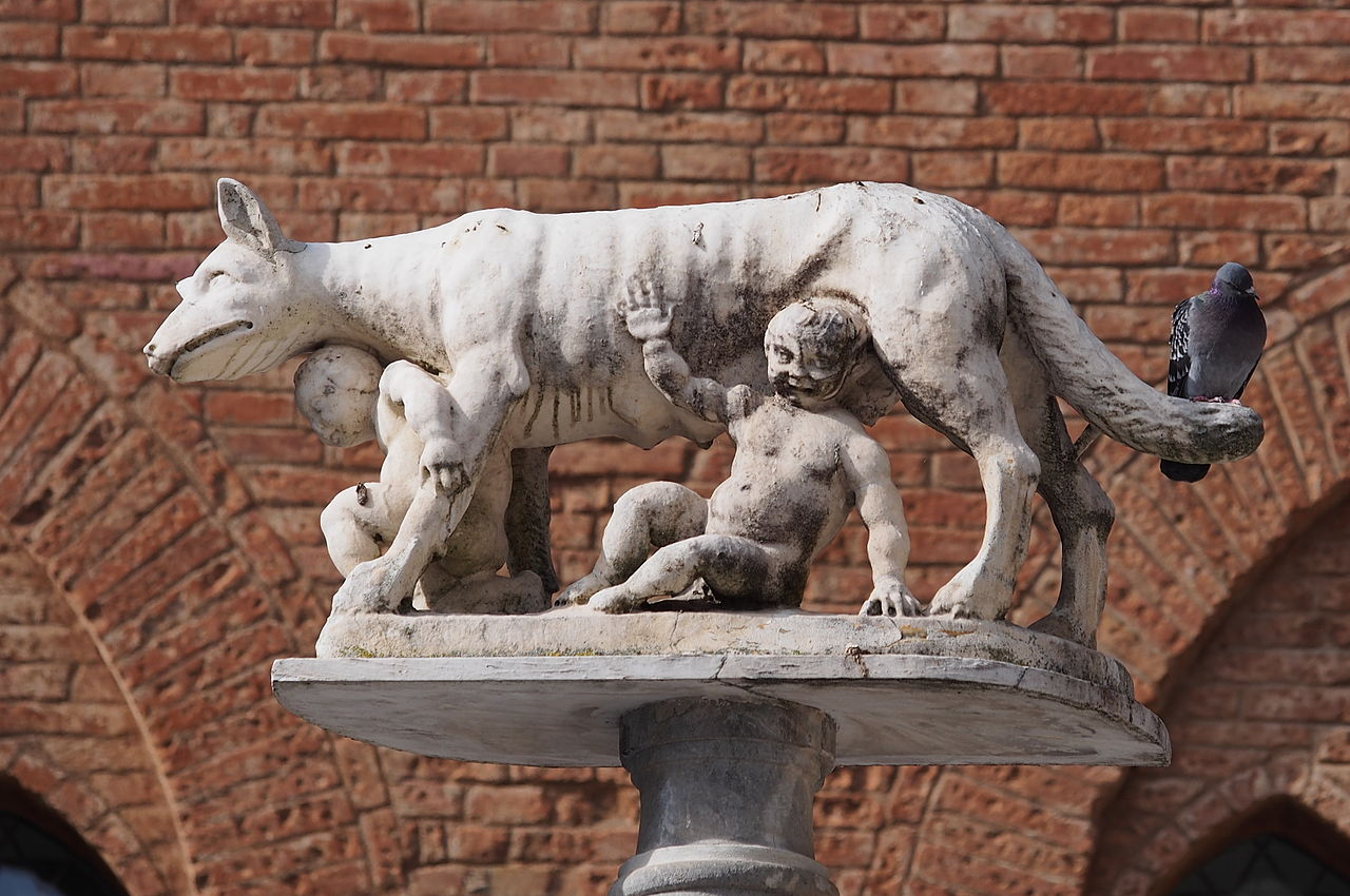 Capitoline_Wolf_at_Siena_Duomo