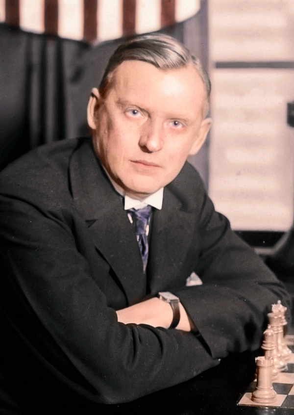 Alexandre_Alekhine_Color
