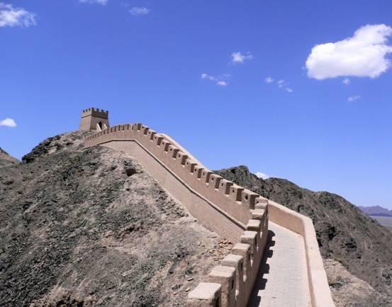 15-The Great Wall Near Jiayu Pass