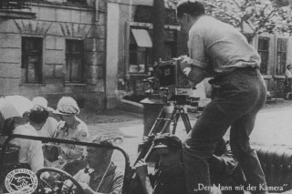 Съемка фильма «Человек с киноаппаратом»