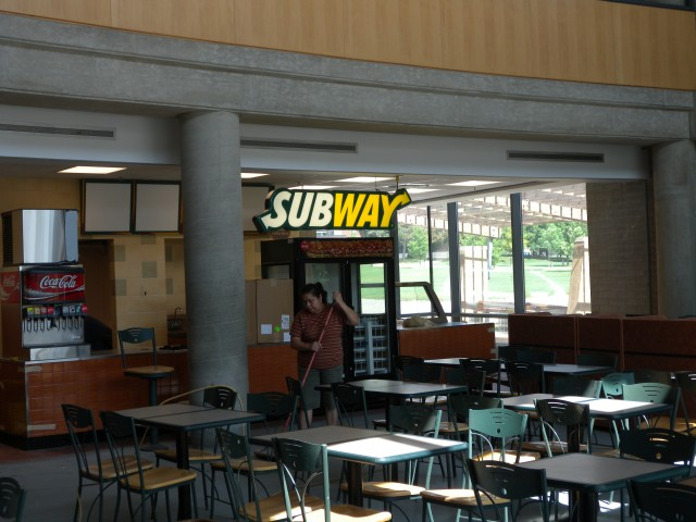 subway in the slc nearly complete university of. Black Bedroom Furniture Sets. Home Design Ideas