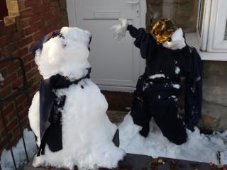 Snowmen 8 & 9