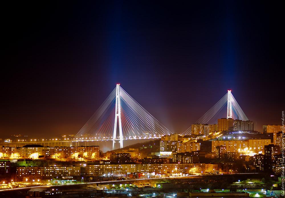 мост русский владивосток фото