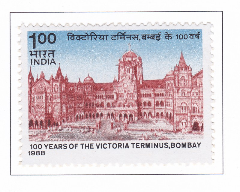 01 YEARS OF THE VICTORIA TERMINUS, BOMBAY   30-05-1988