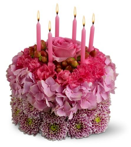 торт-цветы