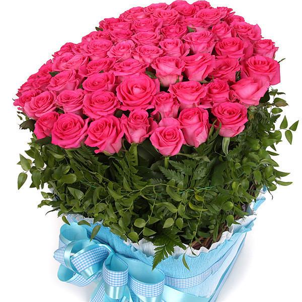 Поздравление с днем рождения с букетом роз
