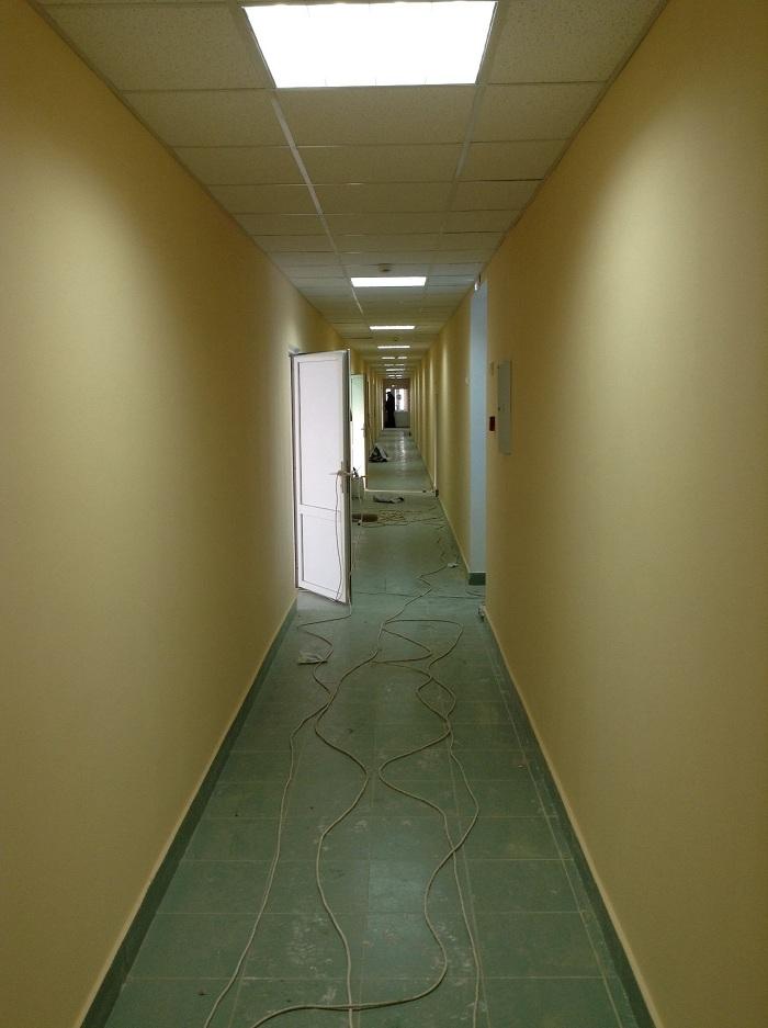 Новый коридор на новом стадионе