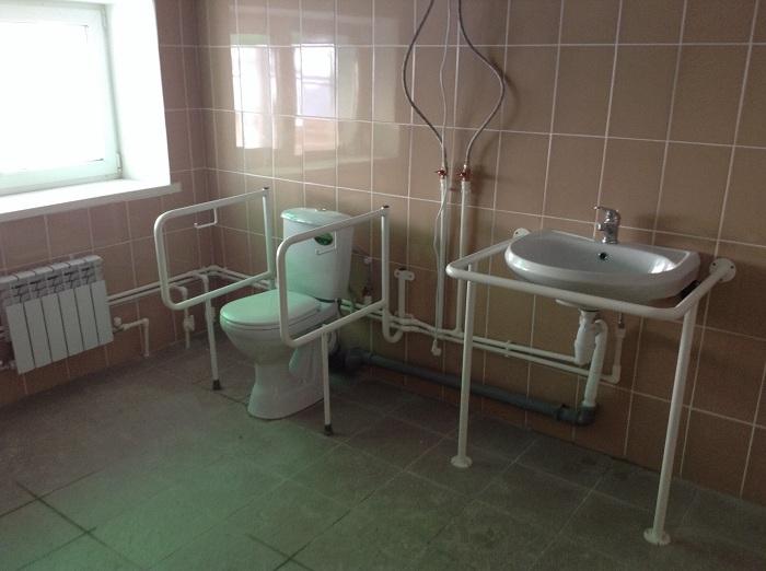Туалет на стадионе