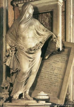 Antonio Corradini - La Pudicizia (Napoli, Cappella San Severo)