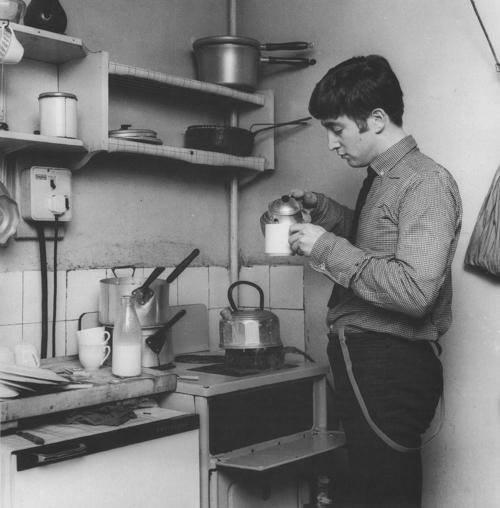 «Битлы» на кухне «а-ля СССР»