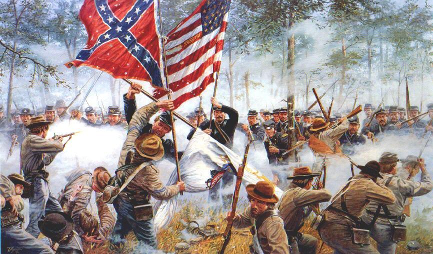 Север и Юг США. Чего они не поделили в 1861 году?