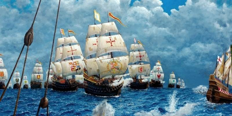 How Francis Drake sent the English armada Drake to the bottom, then, to arrange, the British, coast, armada, ships, ships, at the same time, Invincible, Except, Armada, Spaniards, Spanish, Spaniards, decided, money, hike, money
