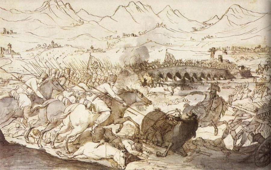 Как Суворов показал французам, кто лучше воевать умеет
