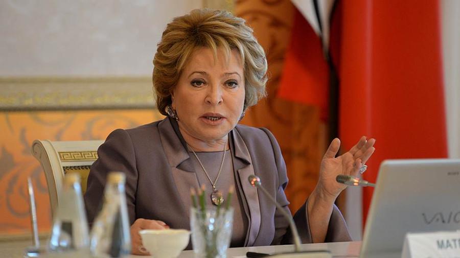 Валентина Матвиенко торопится повысить пенсионный возраст