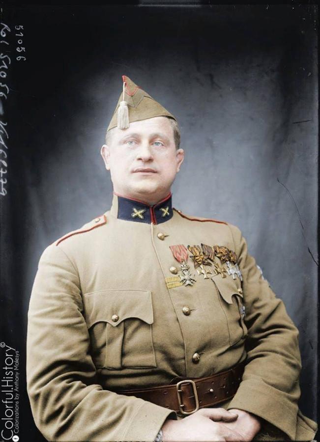 Бельгийский сержант, ставший в России полным георгиевским кавалером