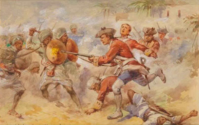 День, в который Англия забралась в Индию