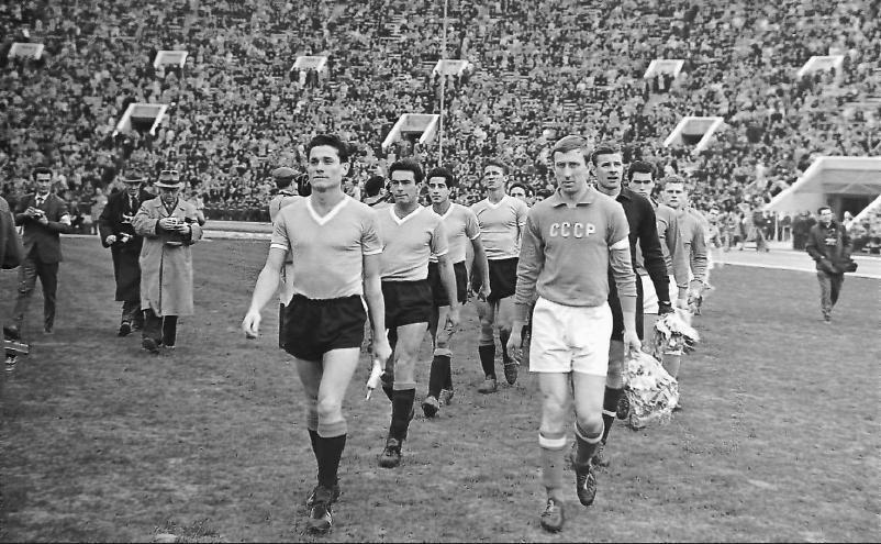 Когда в футбол играли советские джентльмены. История непростых отношений сборной СССР и Уругвая