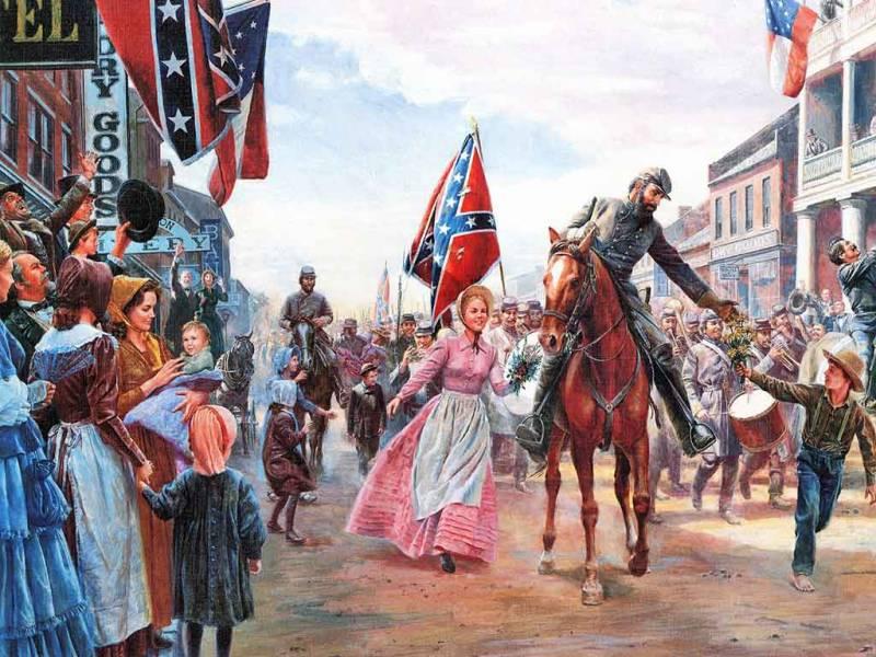 Американские генералы Ли и Грант. Один рабовладелец, другой – нет