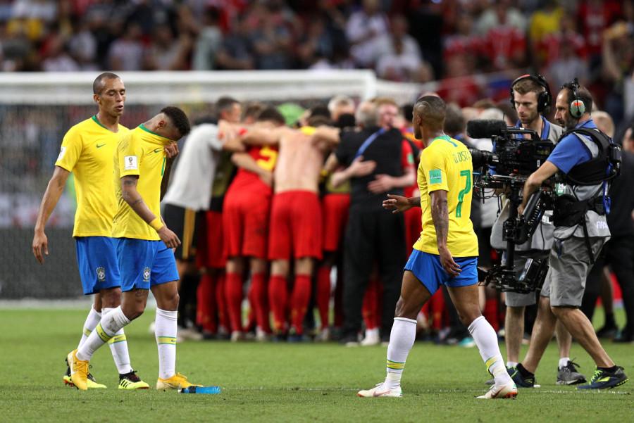 Неймар не забил и Бразилия пролетела. Бразилия – Бельгия 1:2