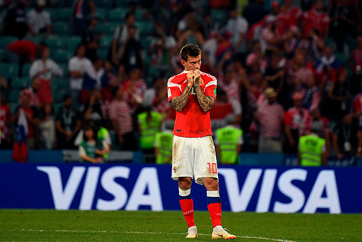 Smolov took all the blame on himself. Alas, Russia overboard the World Cup, but it was a worthy loss Smolov, penalty, honestly, claims, time, it turned out, no one, the end, absolutely, the match, After, fight off, Russia, the team, the national team, the championship, then the national team, left