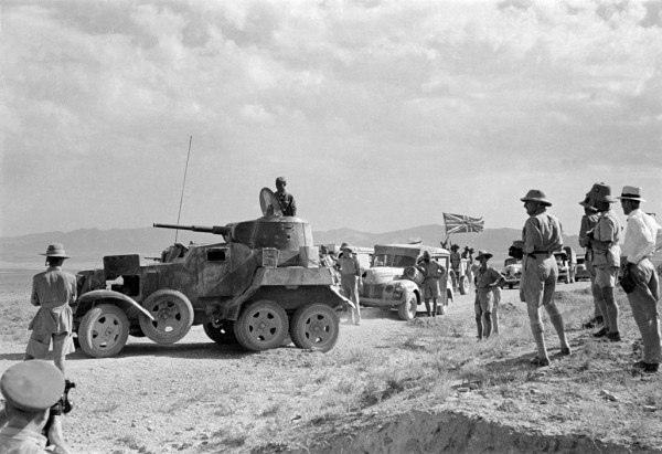 Август 41-го. Первая встреча и победа союзников