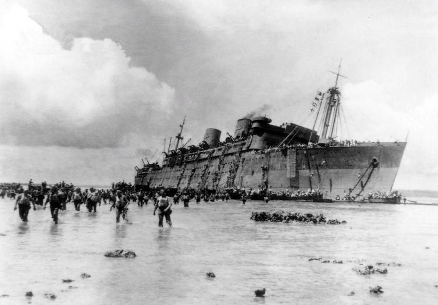 Как янки сами свой транспортный корабль утопили, а потом капитану скандал устроили