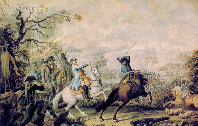 Битва при Кагуле, в которой турок было в шесть раз больше русских. Но победил Румянцев