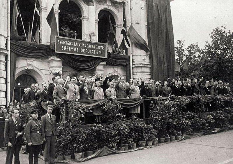 Несколько моментов в истории присоединения Прибалтики в 1940 году