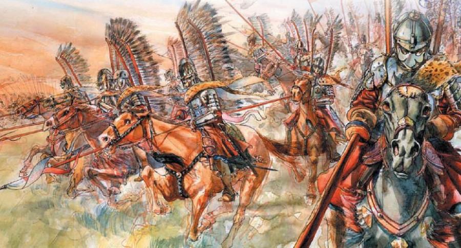 Гордость от поражения гусары, поляки, атаку, начали, метров, которой, потом, коней, Посполитой, крылатые, линию, точнее, шведов, гордятся, атаке, уверенно, первую, конной, Вдруг, пошло