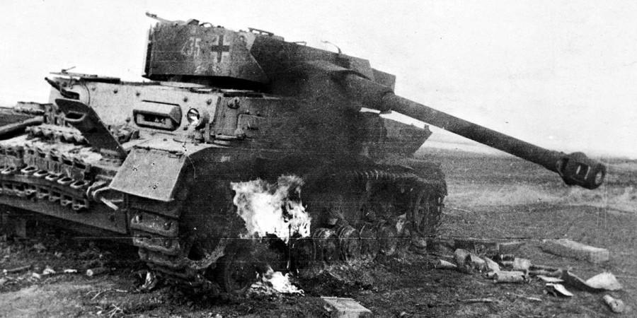 19-летний артиллерист Иван Клестов в одиночку против немецких танков