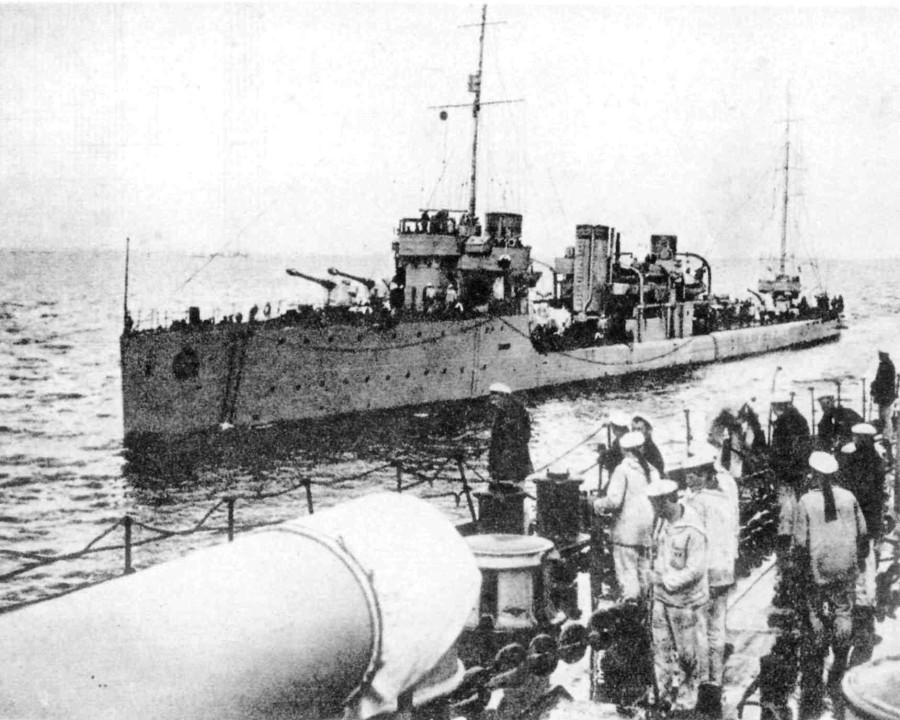 Найден затонувший в 1941 году во время Таллинского перехода эсминец «Калинин»