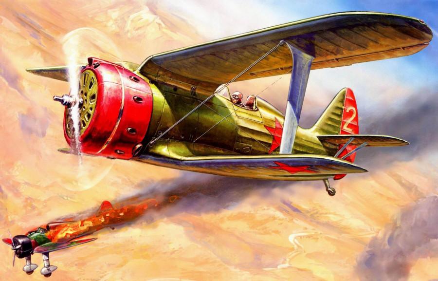 Летчик Грицевец, его друзья и их акробатический героизм в небе Халхин-Гола