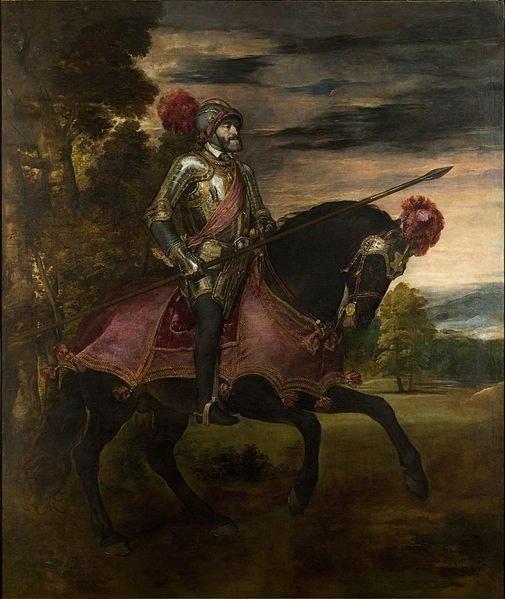 Шикарная картина. Король и его конина. И еще две лошади как цена победы за кадром