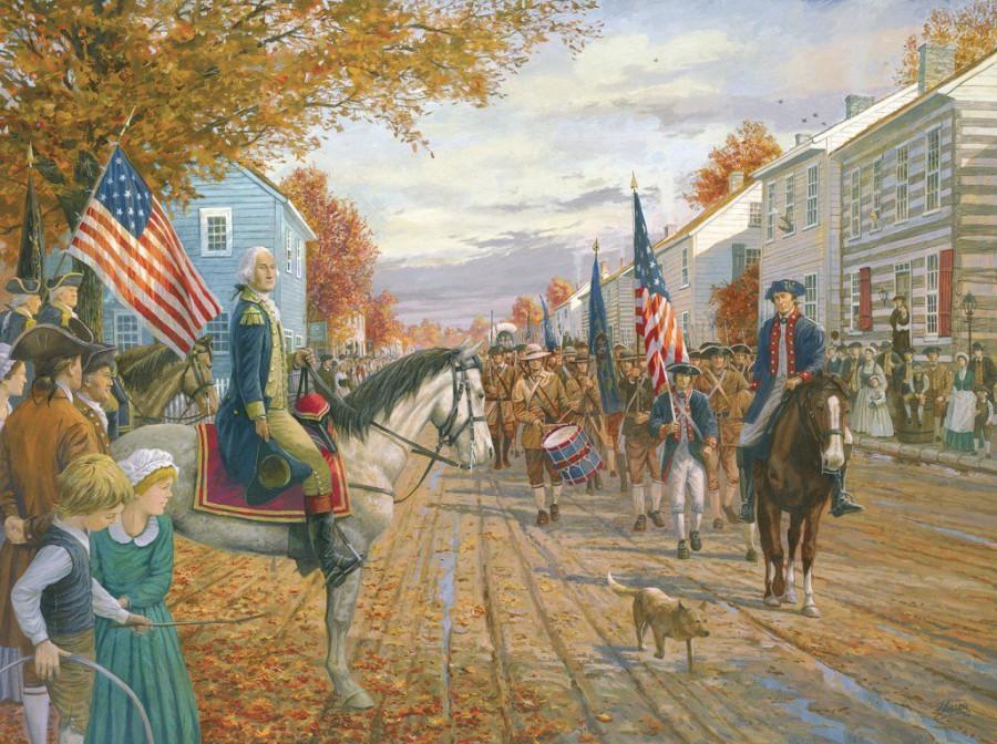 Восстание из-за вискаря или одна из причин, по которой в США появились партии