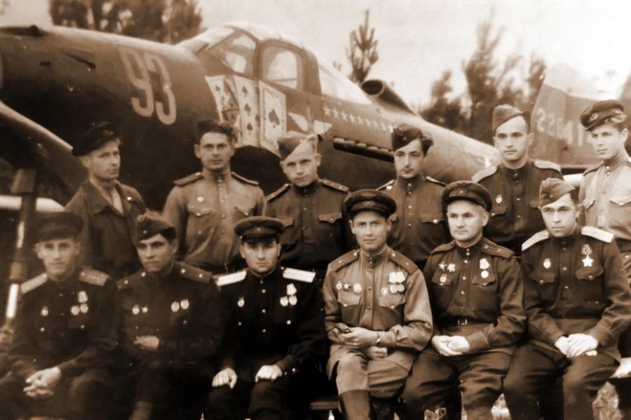 Оригинальная «Аэрокобра» советского летчика