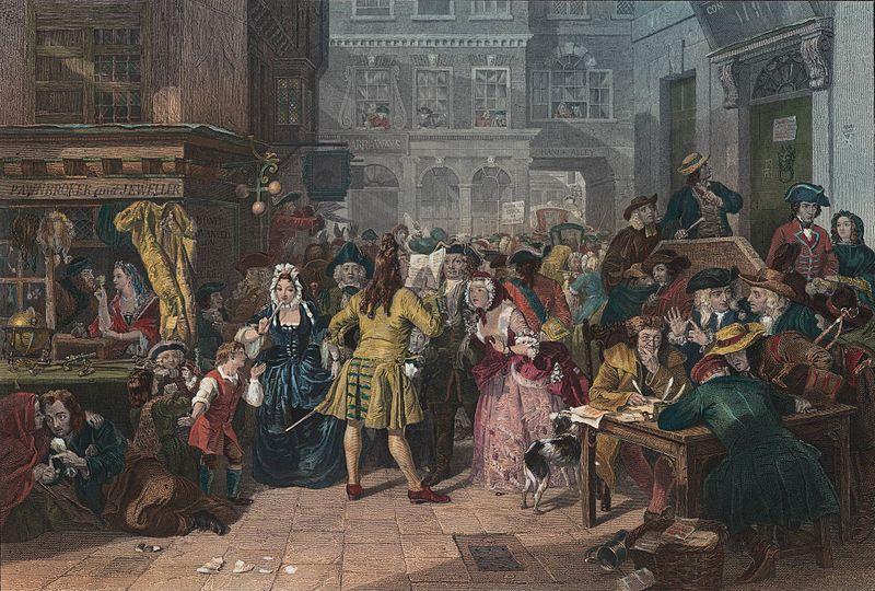 Классическая история о поправке английского госбюджета за счет своих сквайров