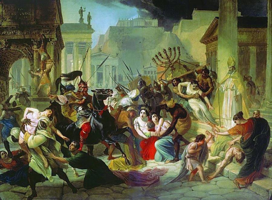 Женщина, устроившая разграбление Рима вандалами
