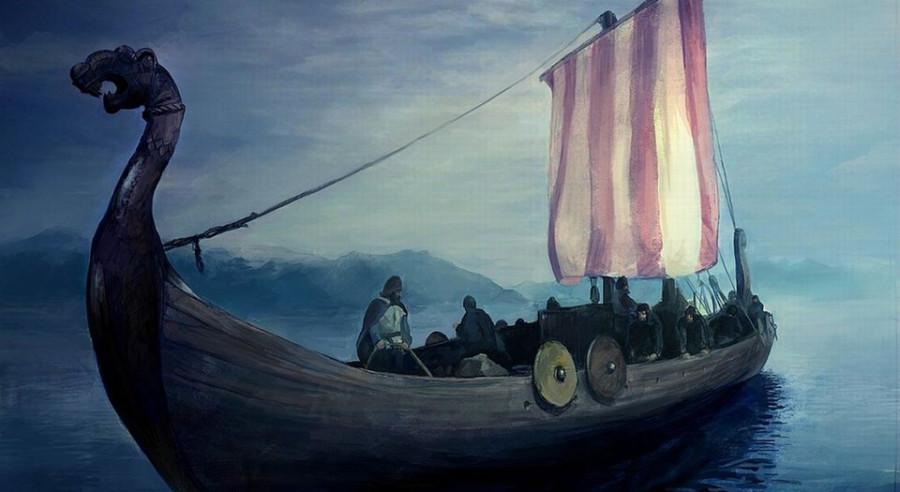Кто первым приплыл в Исландию?