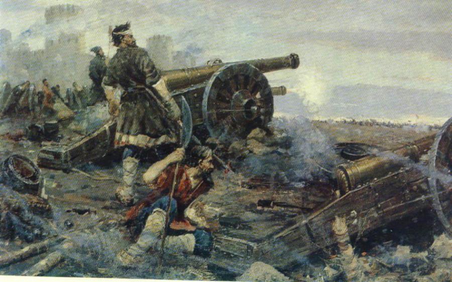 Как наемники шведов порадовали осажденное русское войско, передравшись между собой
