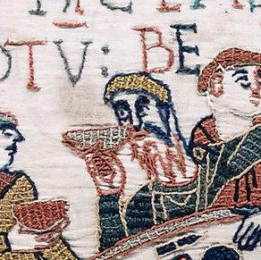 Бородатый граф на «Полотенчике из Байе»