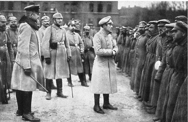 Пленные царские генералы как показатель падения морального духа в Первой Мировой войне