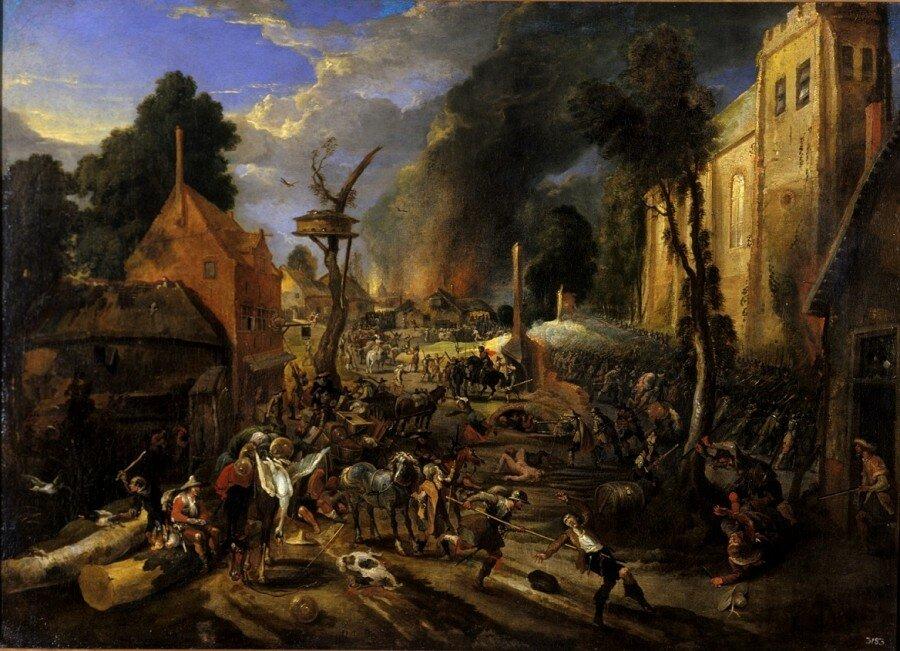 А почему собственно испанцы правили в Нидерландах. Как они там вообще оказались?